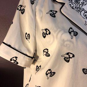 Pajama style top